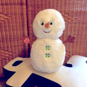 Build a bear snowman plush toy VGC